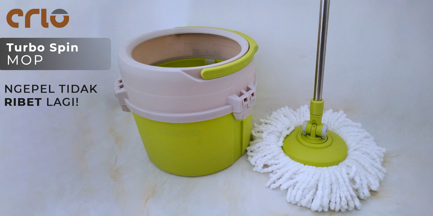 Crio Turbo Spin Mop