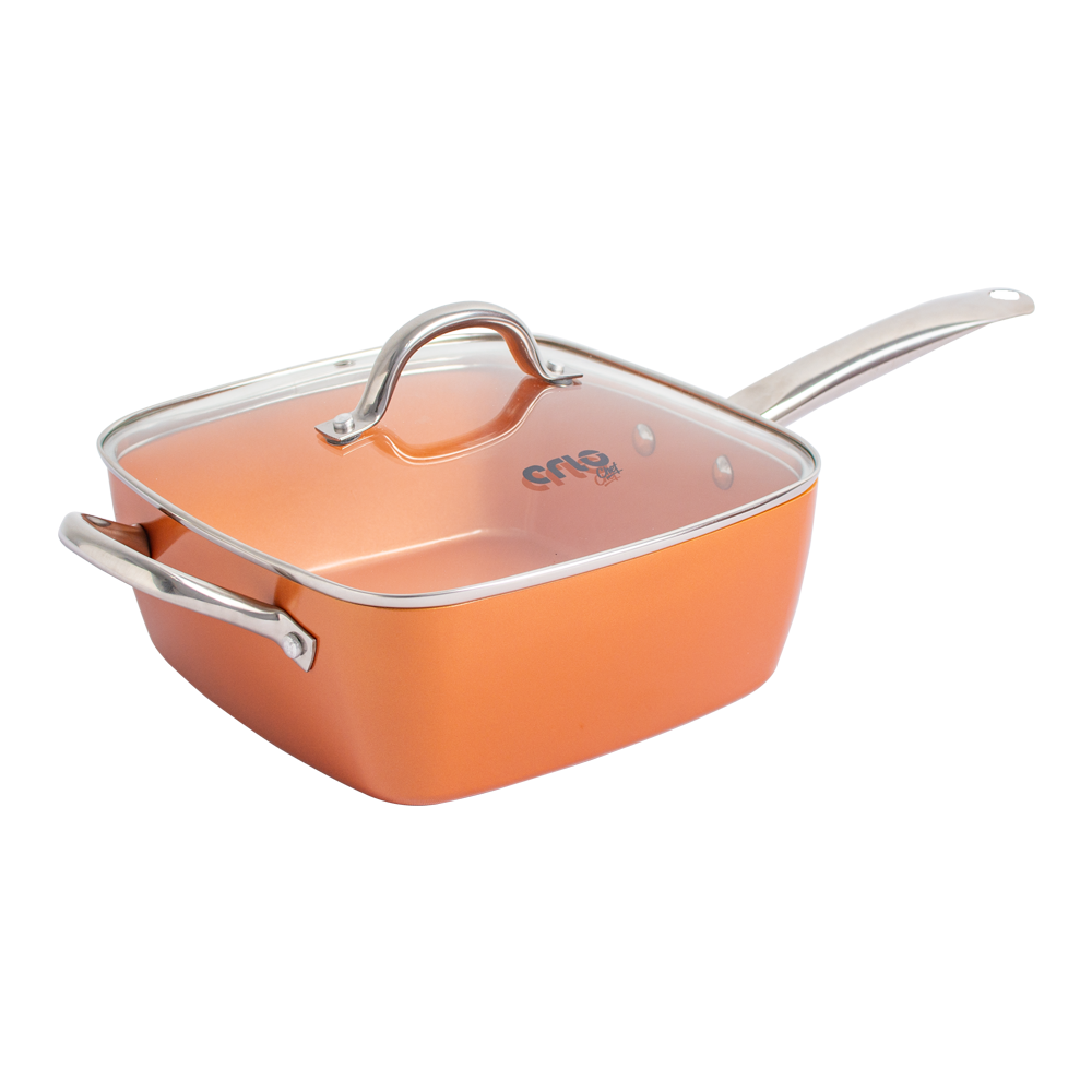 CRIO Copper Square Pan 6in1